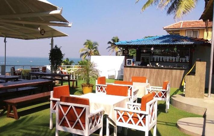 Vista Mare Vagator Goa - Wedding Lawn