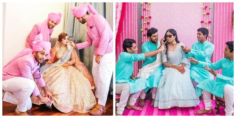 10 bride-and-brother moments which prove that brothers are equally good bridesmaids!
