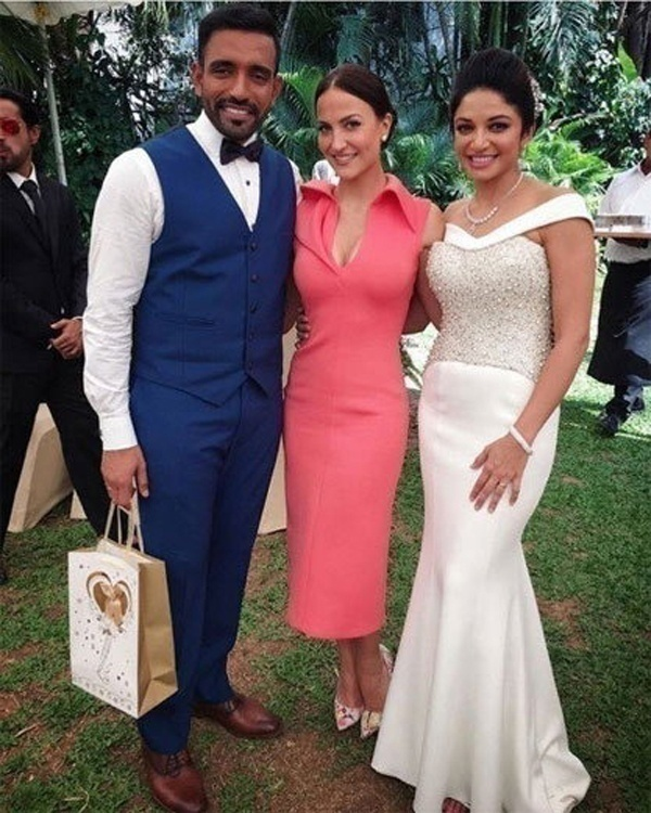 Robin Uthappa and Sheetal Goutham