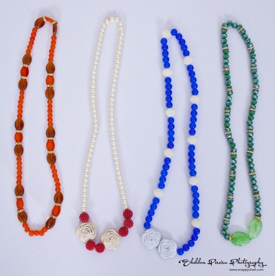 Pearl string necklaces for wedding giveaways