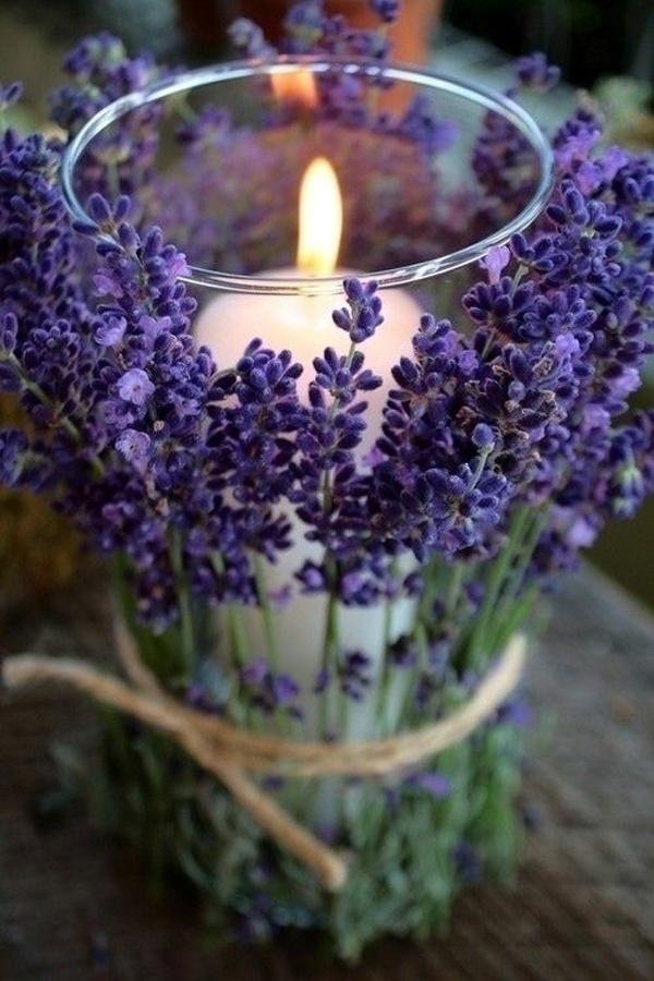Lavender Wedding Décor