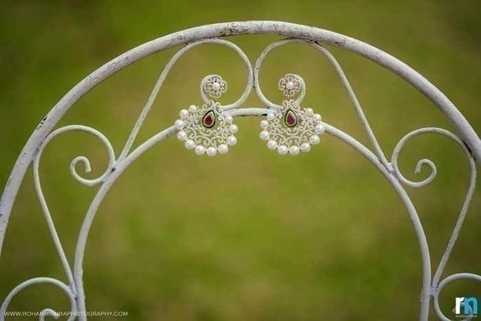 Funky Bridal Earpieces