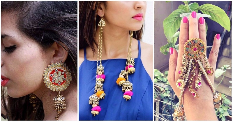 3 Online Jewellery Stores That Have The Prettiest Mehndi Jewellery For Indian Weddings!