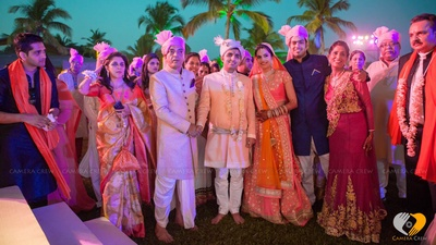 Baaratis wearing pink Safa