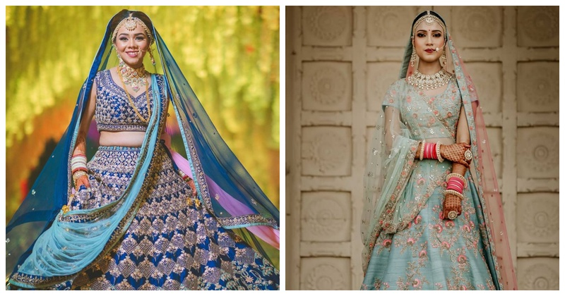 Feeling Blue? 10 Blue Lehenga Options for Brides