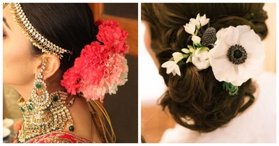 5 Winter Flowers for your Bridal Hairstyle
