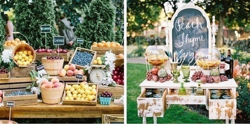 8 wedding food bar ideas that will leave your guests super for Food bar 8 0