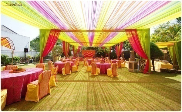 Outdoor Wedding Drapes That Will Leave You Mesmerized!