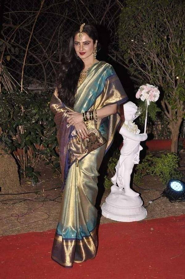 Rekha – Sensuous Traditional Look