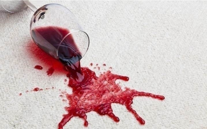 SPILLS AND STAINS