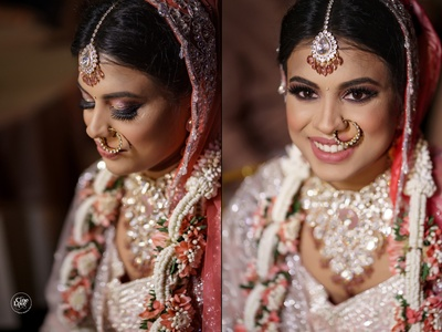 a beautiful capture of the bride at her wedding