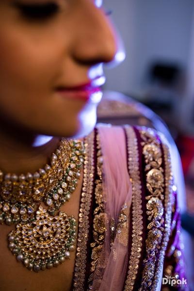 Beautiful bridal jewellery by Sabyasachi