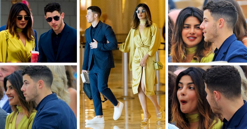 Priyanka Chopra attended Nick Jonas' Family Wedding as his date!