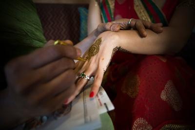 Intricate bridal mehendi designs