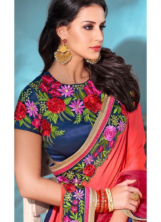 10 Blouse Embroidery Designs To Check Out This Wedding Season Blog