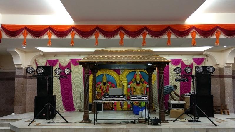 Mahasubalakshmi Mahal Arumbakkam Chennai - Banquet Hall