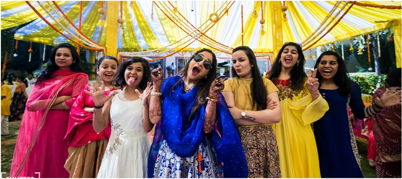 Vaibhaw & Deepika Jaipur :  A bubbly bride, colourful decor and fun-filled pictures makes this one a complete package wedding!