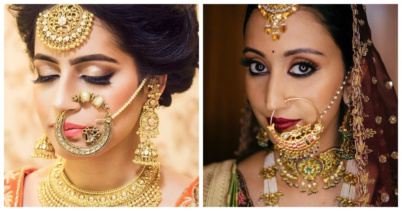 10 dramatic nose rings for brides who want to make a style statement!