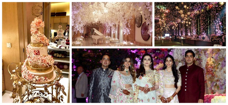 Akash Ambani's grand engagement bash gave us some really cool & unique wedding trends!