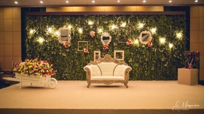Trending Stage decoration ideas for your wedding reception ...