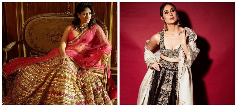 Need Stunning Lehenga Designs to Bookmark? Here are 18 Kareena Kapoor Lehengas We Love!