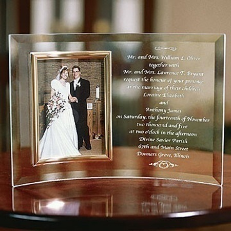 Wedding Invitation Frame