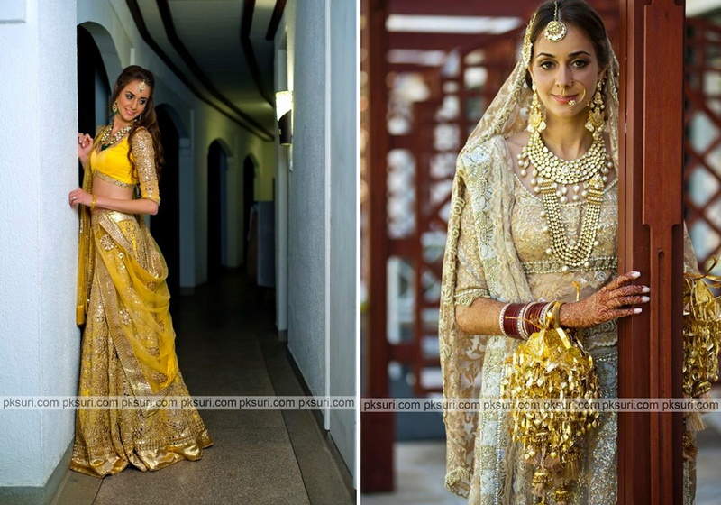 Real Bride Prianka's Bridal Wear Inspiration for Mehendi, Sangeet & More!