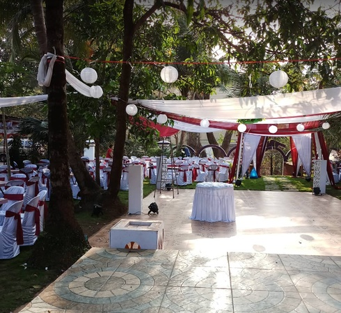 City Arch Party Venue Vodlemol Cacora Goa - Wedding Lawn