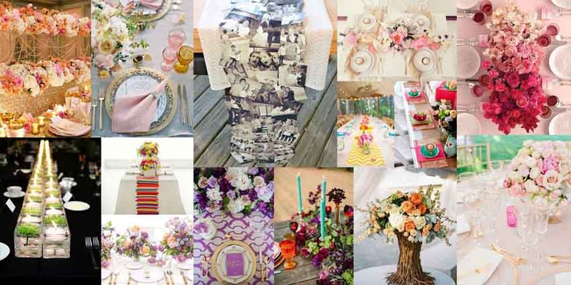 #SummerWeddingSeries – Spectacular Wedding Table Decorations and Centrepieces for the Most Popular Summer Wedding Themes