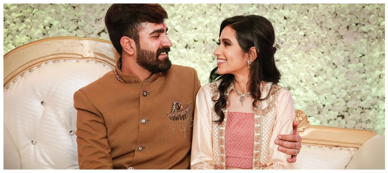 Ritesh & Suvidha Delhi : A Fairytale Wedding with a Bride in a Glamorous Red Lehenga