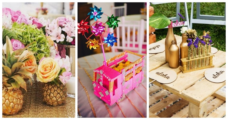 15 Must-See Quirky Table Centrepieces Ideas for your Wedding Decor (no, not floral bouquets)!