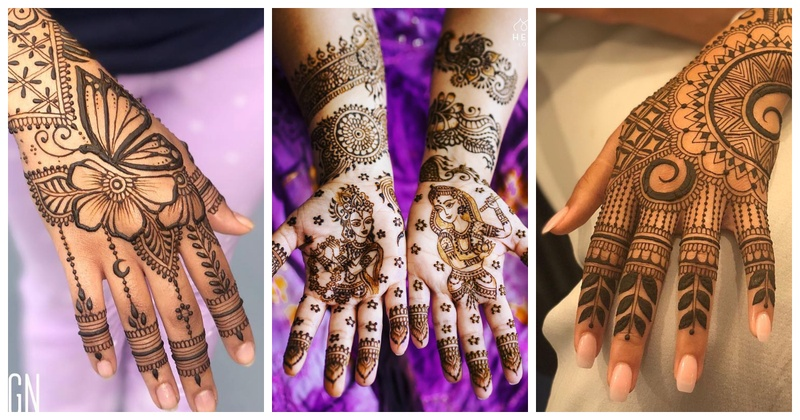 25 New Mehndi Design Ideas Trending this Wedding Season!