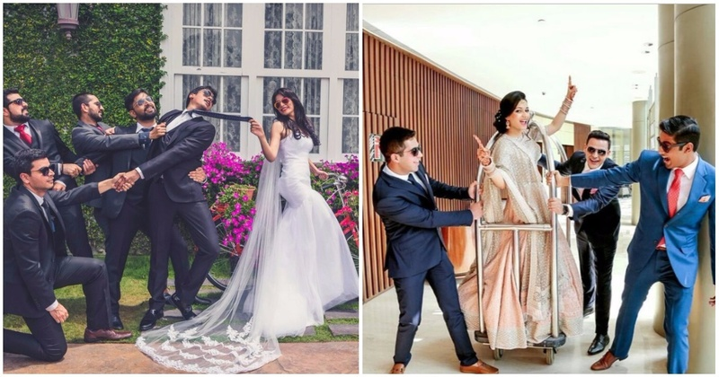 The Coolest Bride-and-BridesMEN Pictures Every Indian Bride Must Click At Her Wedding!