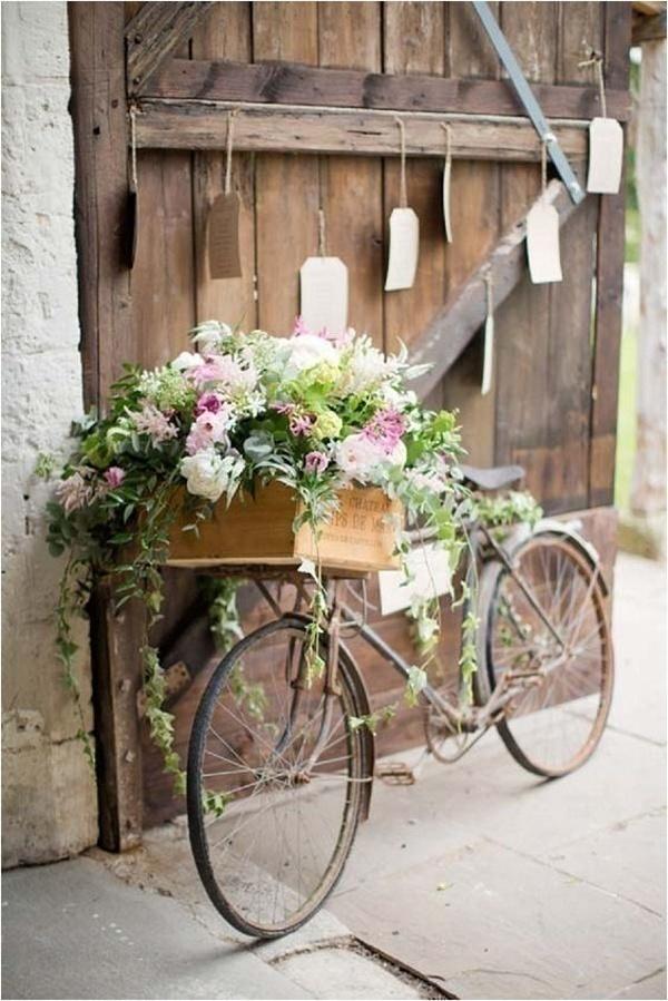 Bridal Shower Bicycle Decoration