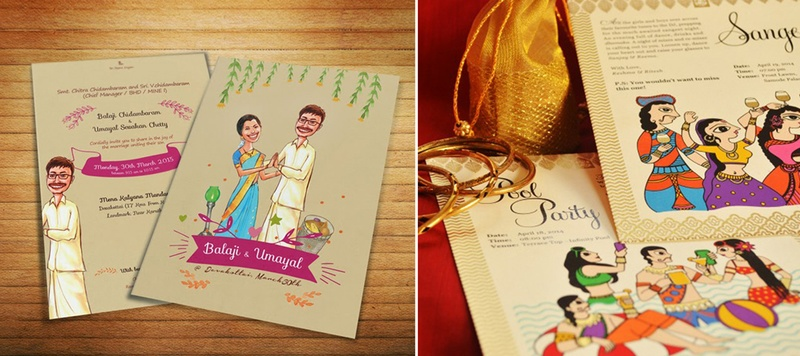 Fun, Trending and Unique Wedding Invitations of 2016