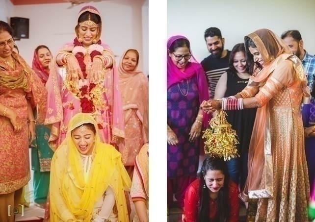 Mehndi and Chooda Ceremony: