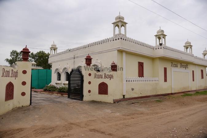 Rani Bagh Resort Kukas Jaipur - Wedding Lawn