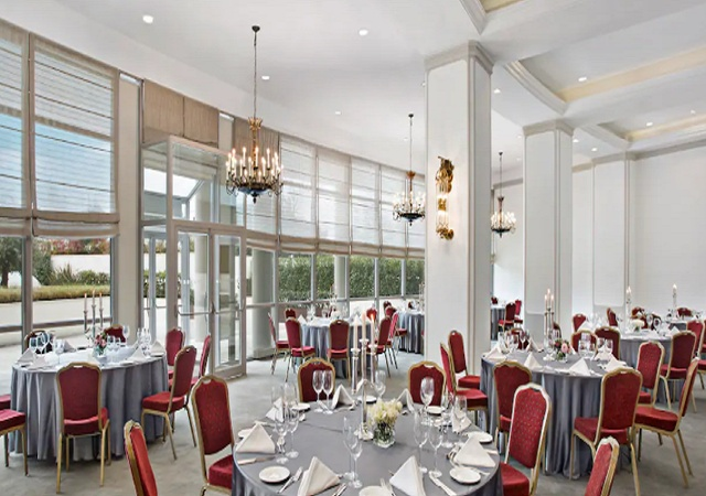 Conrad Istanbul Bosphorus Istanbul Turkey - Banquet Hall