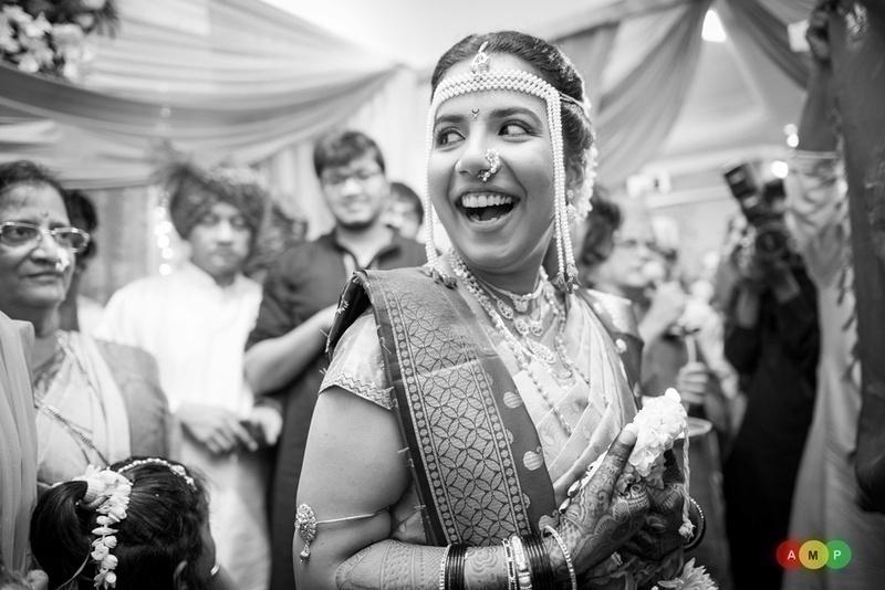 Black and white asian wedding — photo 4