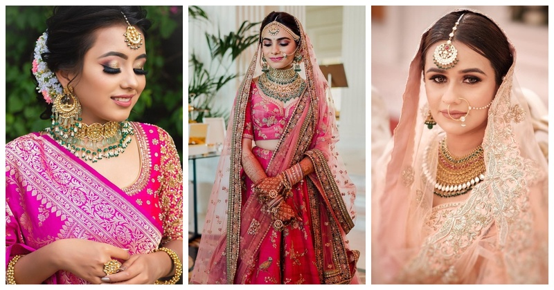 8 Jewellery Sets to Pair with Your Pink Bridal Outfits