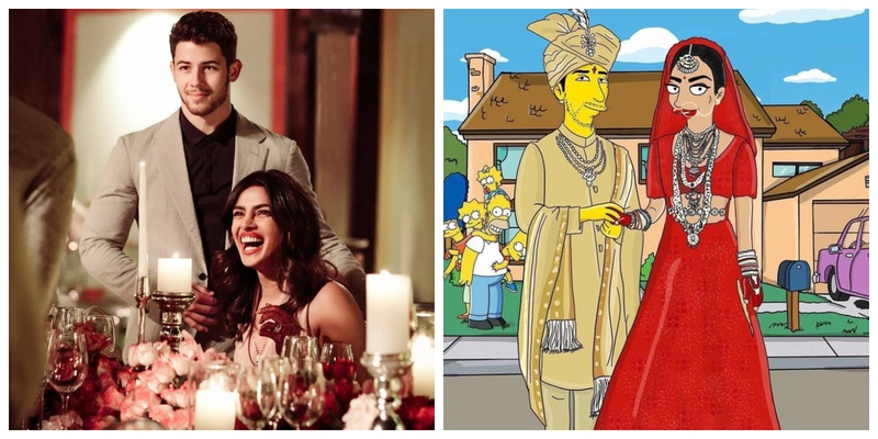 From Simpsons Style Cartoon to customized dolls - Priyanka Chopra and Nick Jonas are definitely the couple of the moment!