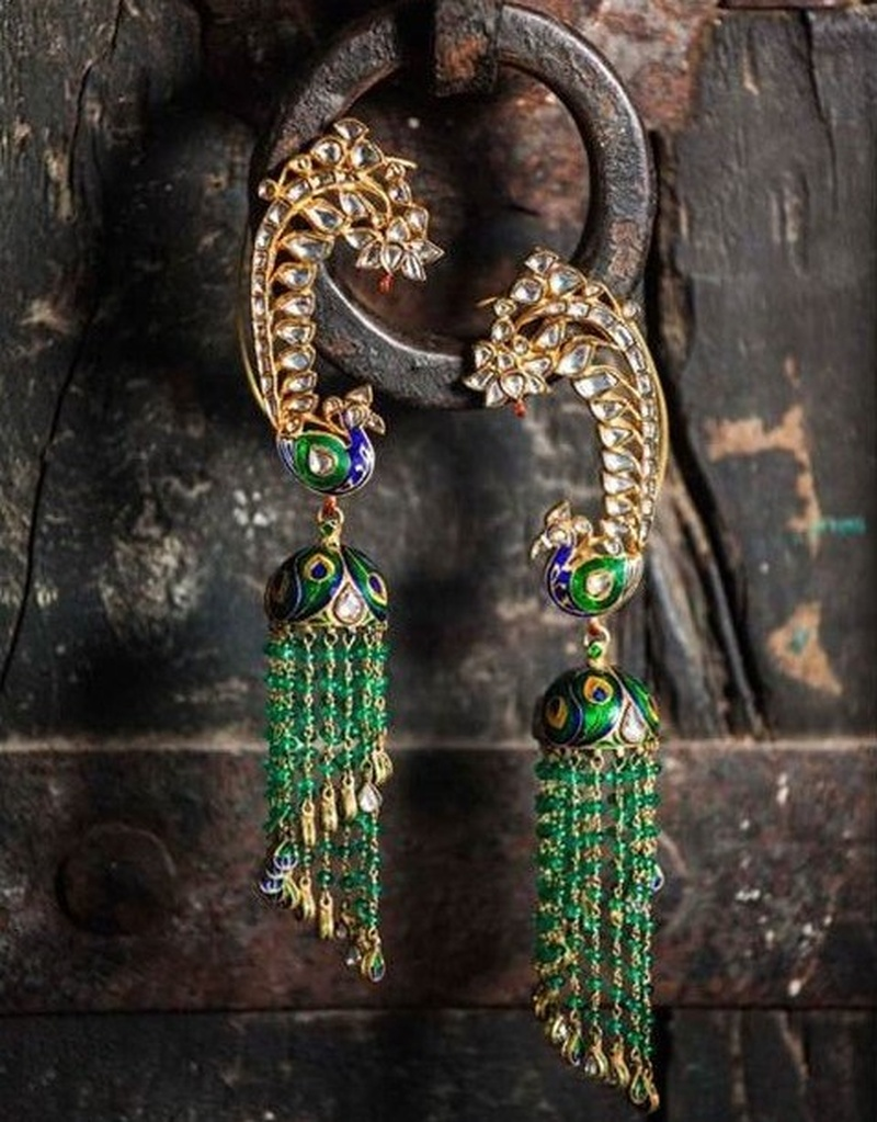 Meenakari Jewellery Lookbook: For All the Brides That Love Colour.