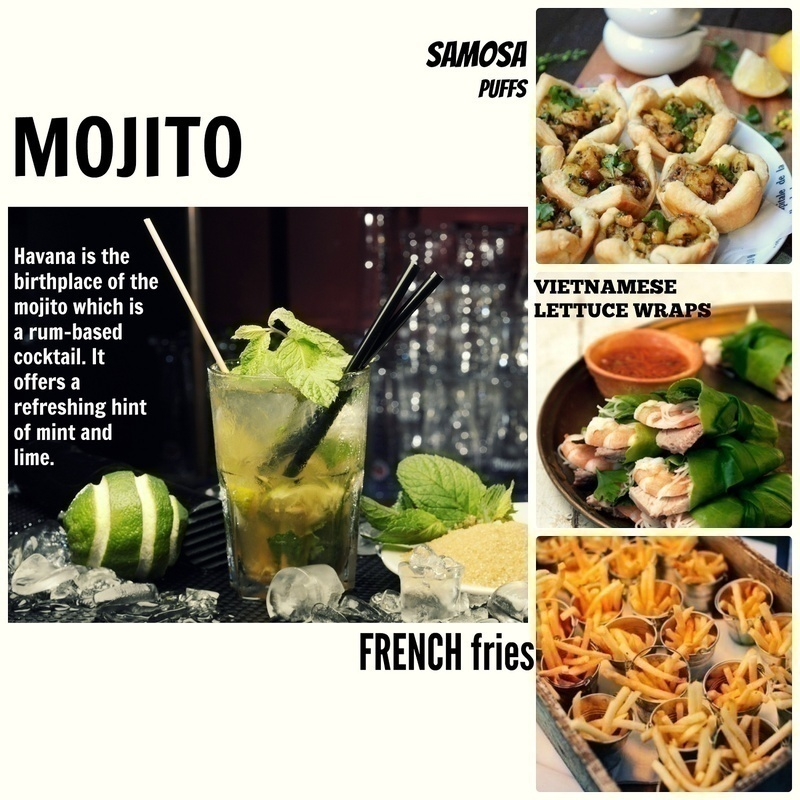 What to Serve Best with Minty Mojito?