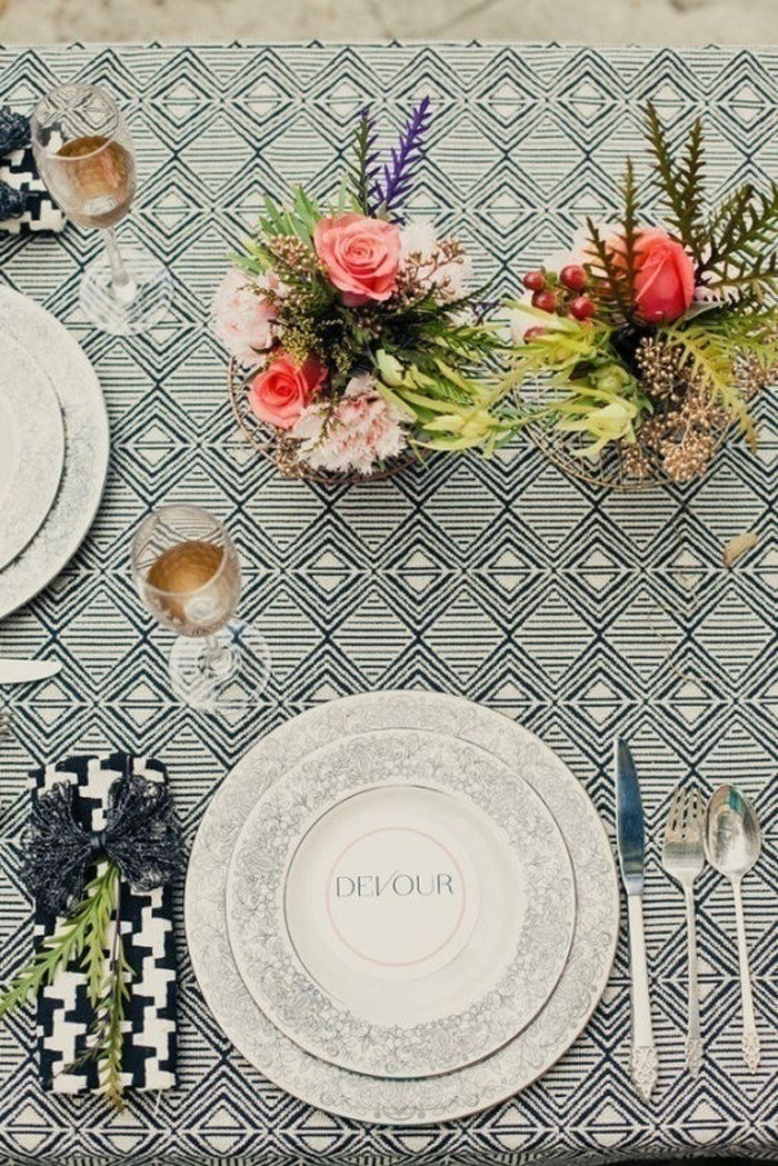 Coordinated Table Décor