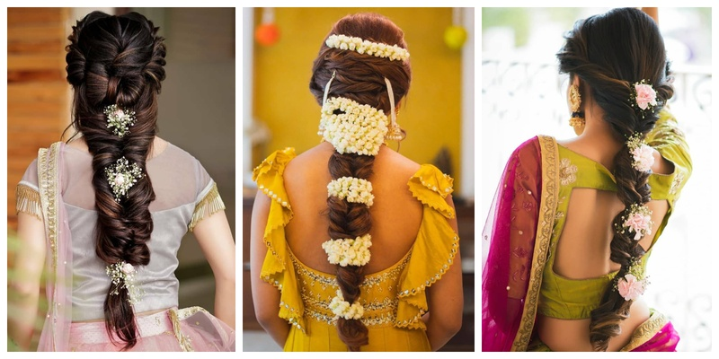 10 Floral Braid Hairstyles that will be a head turner on your wedding day!