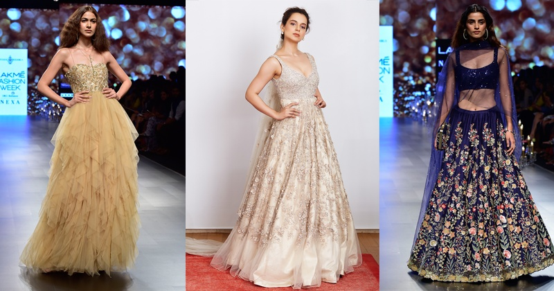 352bfeef79f6 Unveiling the Dynamic Duo Shyamal and Bhumika's Latest Collection at LFW  2018- #LFWSS18