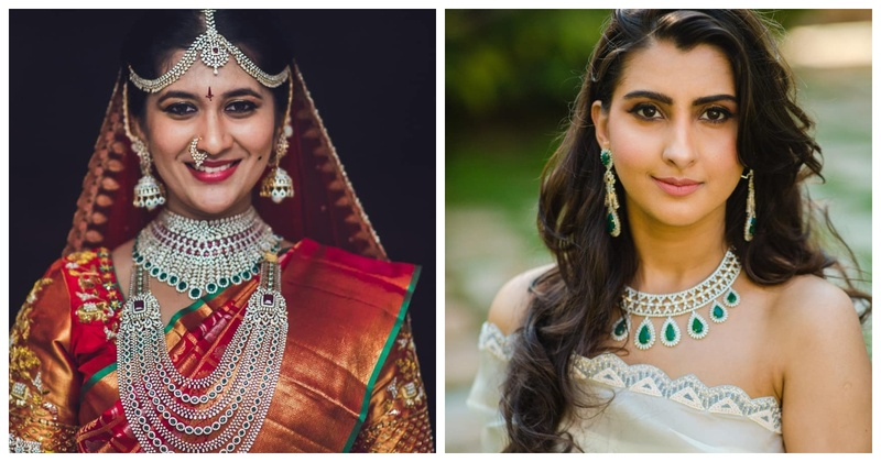 7 Real Brides who Floored us With their Diamond Jewellery Sets