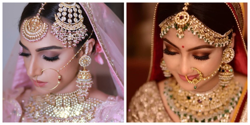Bridal Makeup Looks Which Rocked The 2018 Indian Wedding Season Bridal Mehendi And Makeup Wedding Blog