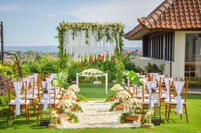 Small Garden Wedding in These Cities for a Dreamy Affair with a Refreshing Vibe