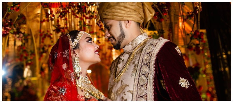 Abraar & Sadia Dhaka : Extravagant outfits and enviable decor-this  wedding is a major inspiration for all new-age couples!